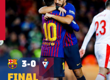 """Барселона"" – ""Эйбар"" 3:0 (Видео)"
