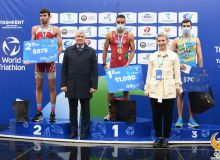 Известны имена победителей Кубка Азии по триатлону