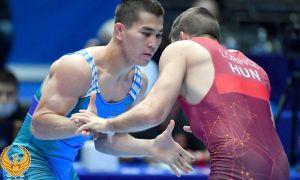 Ещё один наш борец Жалгасбай Бердимуратов завоевал лицензию на Токийскую Олимпиаду