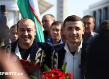 Video & Photo. Israil Madrimov backs home after Alejandro Barrera KO