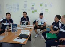 Новости с Олимпийской деревни: Первое собрание рабочей группы спортивной делегации Узбекистана
