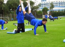 White Wolves get started Antalya training camp with an intense workout