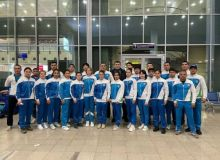 Our young sambo wrestlers have left for Greece for the World Cup