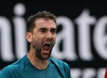 Марин Чилич победил своего противника в трех сетах