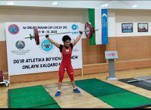 Нигора Абдуллаева завоевала второе место на международном онлайн турнире