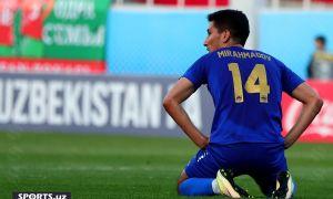 В матче, в котором Мирахмадов забил 4 мяча, «Бунёдкор» с трудом выиграл