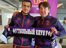 Остон Урунов стал игроком «Уфы»