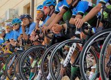 Велоспортсмены проводят сборы в Бостанлыке