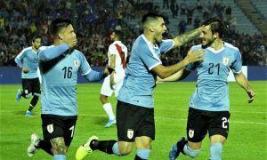 Битта гол Уругвайнинг Перу устидан ғалаба қозониши учун етарли бўлди (видео)