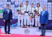 IBSA Grand Prix. Ushqun Kuranbaev. Parvina Samandarova. Sherzod Namozov