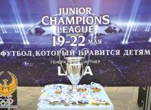 Звезды спорта на открытии турнира «Лига чемпионов для детей»