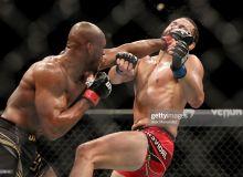 """""""Uxlab qolgan"""" Masvidalga 532 ming, oyog'i sinib ketgan Uaydmanga 341 ming dollar: """"UFC 261""""ning pul mukofotlari bitta suratda"""