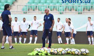 Состав национальной сборной Узбекистана на товарищеские матчи в июне будет объявлен после 10-го тура Coca Cola Суперлиги
