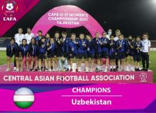 Женская молодёжная сборная Узбекистана U-17 победила в турнире CAFA!