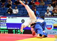В Осаке стартует международный турнир из серии «Большой шлем» по дзюдо