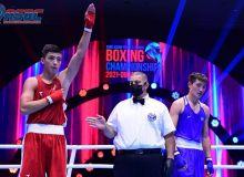 Бокс. Фотогалерея с боев 5-го дня чемпионата Азии в Дубае
