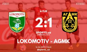 FC Lokomotiv earn a 2-1 comeback win over FC AGMK