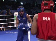 """""""Big Bout Indian Boxing League."""" Дастлабки ҳамюртимиз имкониятни бой берди"""