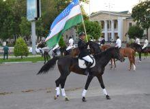 В Узбекистане впервые прошел конный парад