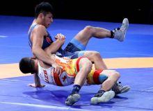 Борец Узбекистана вышел в полуфинал