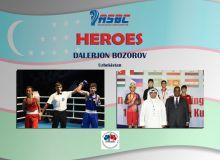 ASBC Heroes – Uzbekistan's ASBC Asian Schoolboy Champion and two-time national winner Dalerjon Bozorov