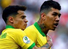 Америка кубоги. Бразилия пенальтилар сериясида Парагвайни енгди ва илк ярим финалчига айланди