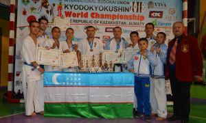 Ўзбек каратэчилари жаҳон чемпионатидан 7 та медаль билан қайтишди