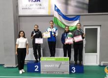 В столице завершился Кубок Узбекистана по бадминтону