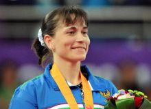 Осиё ўйинлари: Оксана Чусовитинадан кумуш медаль