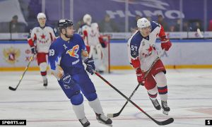 Sergey Lalin's late goal sees Zvezda Chekhov earn a 2-1 win over HC Humo