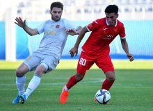 «Локомотив» провел контрольный матч с «Кызылкумом»