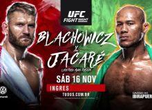UFC Fight Night 164 турнирида кимлар октагонга кўтарилади?