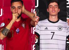 Евро-2020. Португалия - Германия: Бошланғич таркиблар билан танишинг