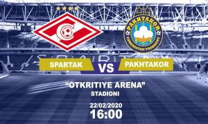 FC Pakhtakor leave for Spartak friendly with a 18-man squad