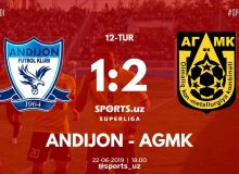 Суперлига: АГМК на выезде обыграл «Андижан»