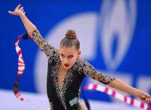 Сабина Ташкенбаева завоевала первую лицензию среди наших представительниц по художественной гимнастике