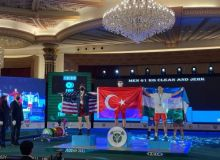 Uzbek weightlifters won a bronze medal at the World Cup