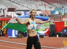 Dusanova Xitoyda ikkinchi oltin medalni qo'lga kiritdi
