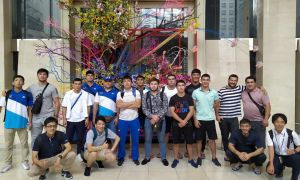 Uzbek judokas arrive in Tokyo for the 2019 Senior World Judo Championships