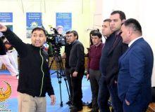 Рабочая группа НОК посетила тренировки сборных команд