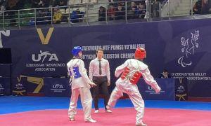 Известны имена первых победителей чемпионата Узбекистана по таэквондо WT
