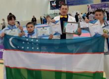 Uzbek athletes earn three medals in International Shinkyokushinkai Karate Tournament in Taraz
