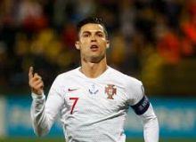 """Евро-2020 саралаш босқичи. Роналдунинг """"покери"""" Португалияга йирик ғалабани келтирди"""