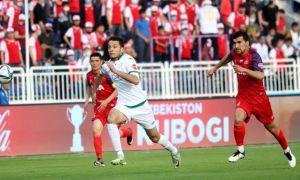 FC Lokomotiv down FC Andijan to claim their first win in 2021 Uzbekistan Cup
