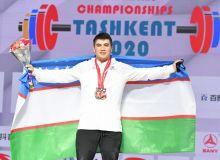 Очередные медали чемпионата Азии завоевал Сарварбек Зафаржонов