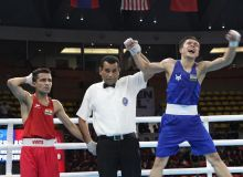 Nodirjon Mirzakhmedov earns the only medal for Uzbekistan in the Thailand Open International Boxing Tournament