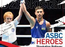 ASBC Heroes – Uzbekistan's 15-year-old Shavkatjon Boltayev who remained unbeaten in 2019