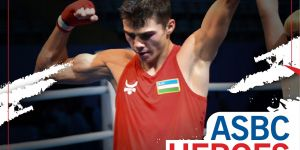 ASBC Heroes – Uzbekistan's ASBC Asian Junior Champion Azizbek Tojiyev is planning to follow his boxing idol, Gennadiy Golovkin