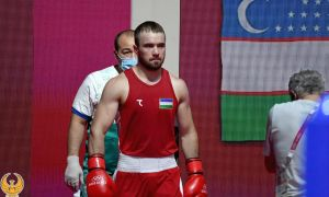 Фанат Кахрамонов победил грузинского боксёра