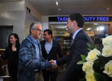 Президент АФК шейх Салман бин Ибрагим Аль Халифа прибыл в Ташкент